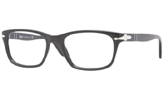 ade3107ca98e7 Amazon.com  Persol Men s PO3012V Eyeglasses Black 54mm  Shoes