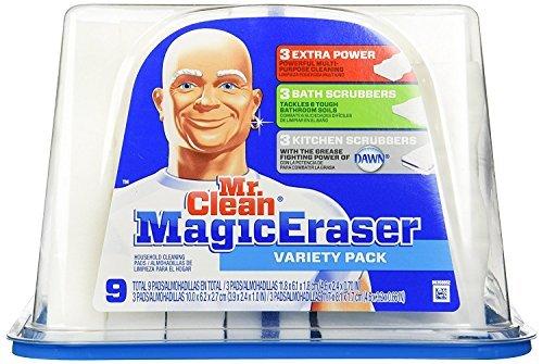 Mr. Clean Magic Eraser Variety Tub (9) (Eraser Tub)