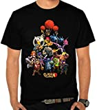 New Black Clash of Clans Character T-shirt Shirts Shirt (L)