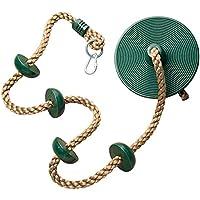 XHHWZB Jungle Gym Kingdom Climbing Rope Platforms Disc...