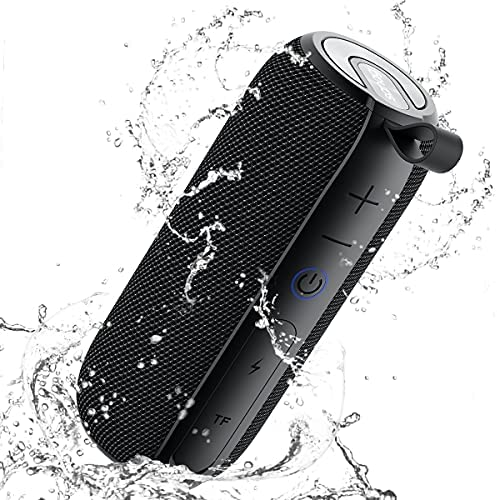 SANAG Transportable Bluetooth Speaker, 360 HD Encompass Loud Sound and Deep Bass, 25W Wi-fi Stereo Twin Pairing, IPX7 Waterproof, Bluetooth 5.0, Out of doors, Tenting, 24H Playtime Speaker