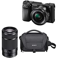 Sony a6000 24.3 MP Mirrorless Camera with 16-50mm and 55-210 Lens (Black) Benefits Review Image
