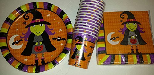 Halloween-Party-Witch-Design-Plates-18-Napkins-18-And-Cups-14