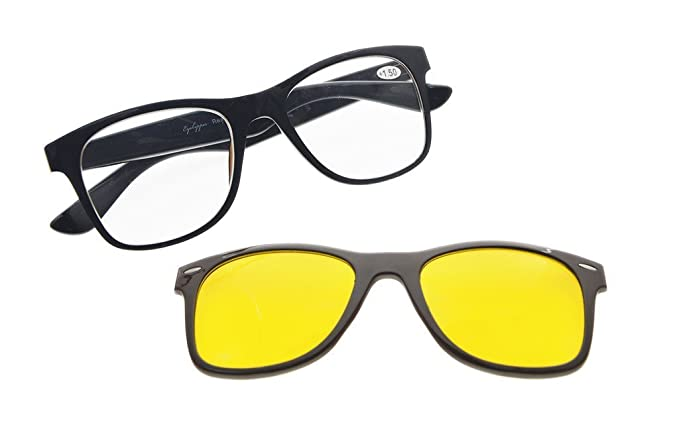 e9407ec7b5b Amazon.com  Reading Glasses Computer Eyewear With Blue Light ...
