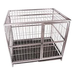 Las jaulas for perros mascota, perrito Parque infantil Whelping ...
