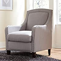 Brylanehome Emma Occasional Chair (Light Gray,0)