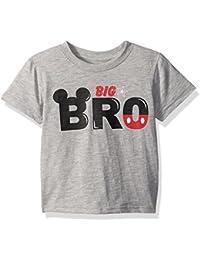 Disney Little Boys' Mickey Mouse Big Brother Tee Shirt