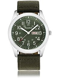 Brand Men Sport Watches Mens Quartz Hour Date Clock Man Military Army Waterproof Wrist watch