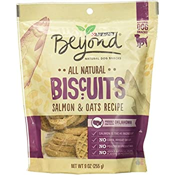 Amazon.com : Purina Beyond Biscuits Salmon & Oats Recipe