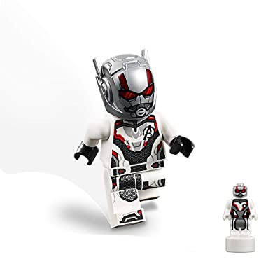 LEGO Super Heroes Avengers Endgame Minifigure - Ant-Man (Normal and Microfigure Quantum Size) 76131: Toys & Games