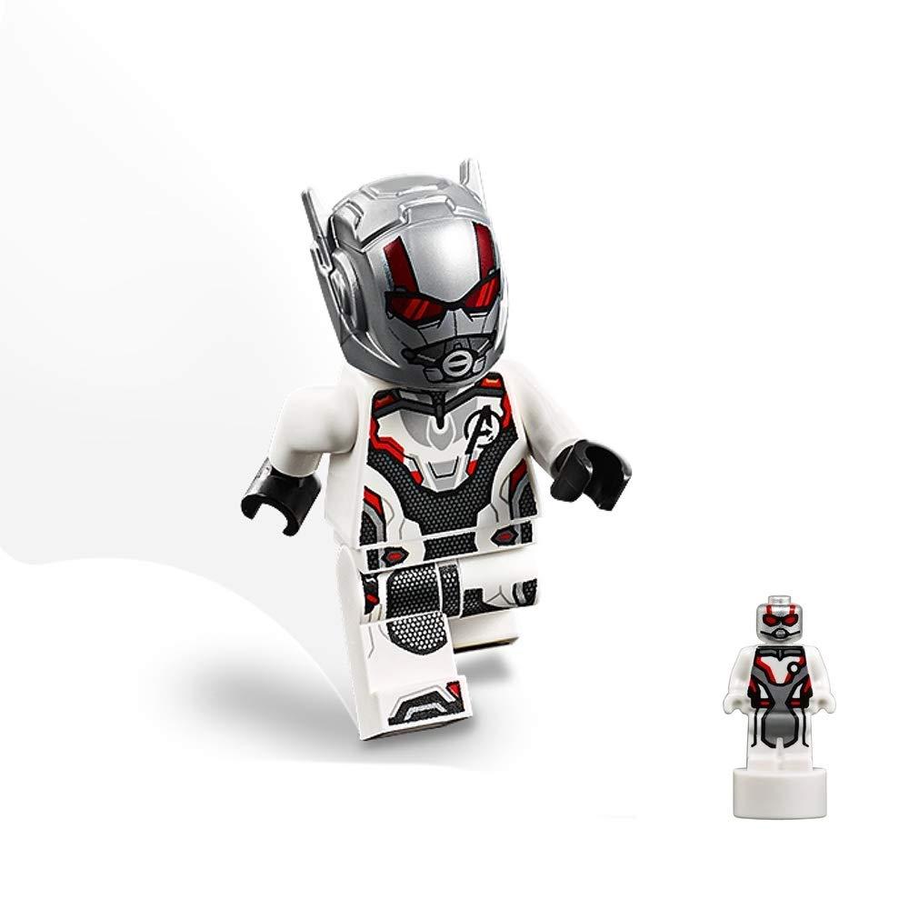 Ant-Man 76131 LEGO Super Heroes Avengers Endgame Minifigure Normal and Microfigure Quantum Size