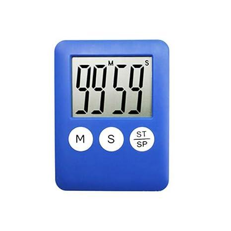 F.RUI Temporizador de Cocina EA02 ABS Digital Cocina Reloj Gran Pantalla LCD Alarma Temporizador