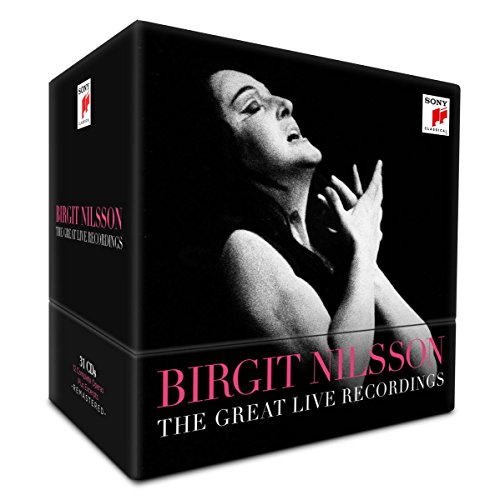 Price comparison product image Birgit Nilsson - The Great Live Recordings