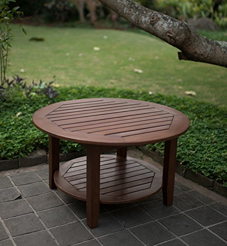 Cambridge-Casual 590170 Como Sectional Coffee Table, Natural by Cambridge-Casual