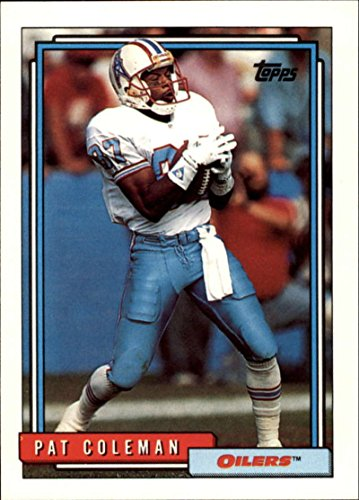 1992 Topps FB Houston Oilers Team Set 25 Cards Warren Moon