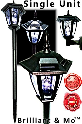Outdoor Lamp Post With Plug - 6