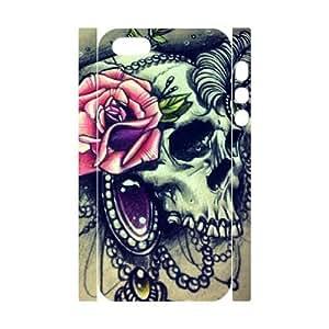 VNCASE Sugar Skull Phone Case For iPhone 5,5C [Pattern-5C]