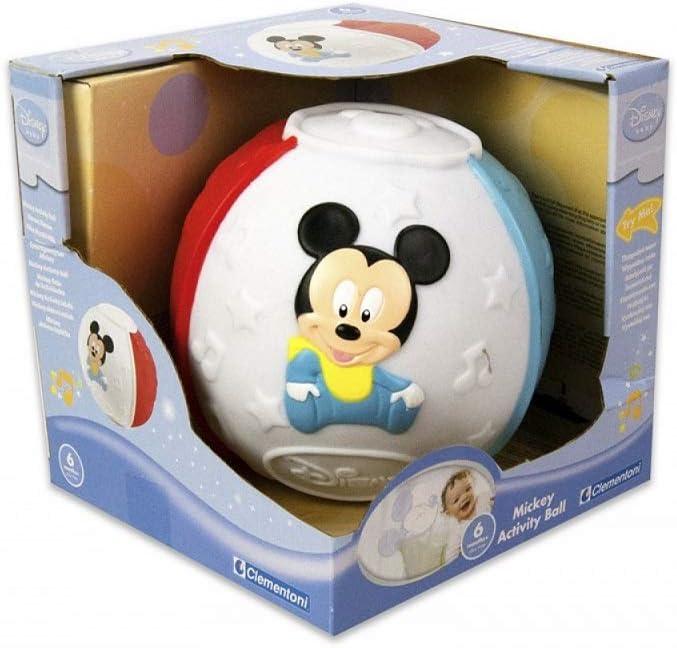 Pelota Mickey Mouse con Figuras y Sonidos Juego Infancia Clementoni Bebe Fair: Amazon.es: Juguetes y juegos