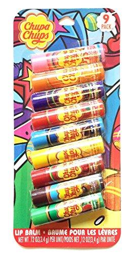 chupa-chups-flavored-lip-balm-9-pack