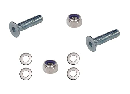 20 Pack M8 Nyloc Nut 8mm Nylon Insert Lock Nuts A2 Stainless Steel Free UK Delivery by DBA Hardware