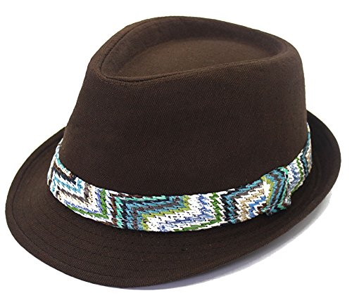 Mens Crushable Wool Felt Solid Fedora Hat Panama Hat for Winter (Irish Gangster Costumes)