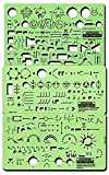 Rapidesign Electrical Drafting and Design Templates (Electrical/Electronic) 1 pcs sku# 1832799MA