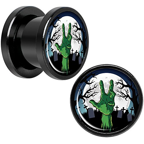 00 gauges plugs zombies - 3