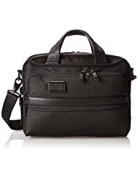 Tumi Alpha 2 Small Screen Expandable Laptop Brief, Black, One Size