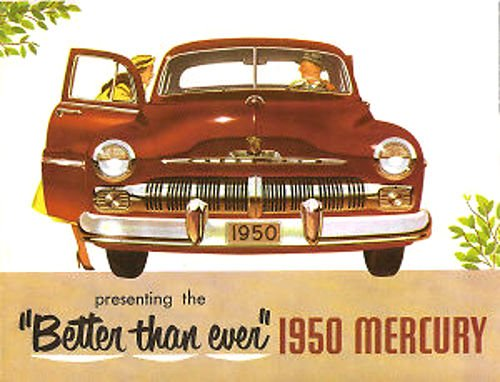 Download 1950 MERCURY FULL COLOR DEALERHIP SALES BROCHURE - Includes All Mercury Coupes, Sedans, Convertible and Wagons - ADVERTISMENT - LITERATURE 50 pdf