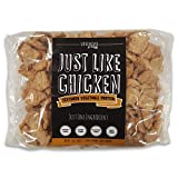 Textured Vegetable Protein (TVP), 100% Certified Non-GMO Soybeans, 100% Vegan, Made in USA, Imitation Chicken, Gluten Free, MSG Free, Just Like Chicken, Unflavored, 16 oz, Makes 3.4 lbs. (1 Pack)