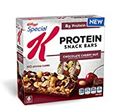 Protein Snack Bars Chocolate Cherry Nut 6 Bars Kellogg's Special K (3 boxes)