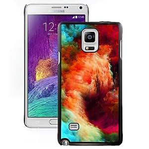 New Pupular And Unique Designed Case For Samsung Note 4 With Super Nova Black Phone Case
