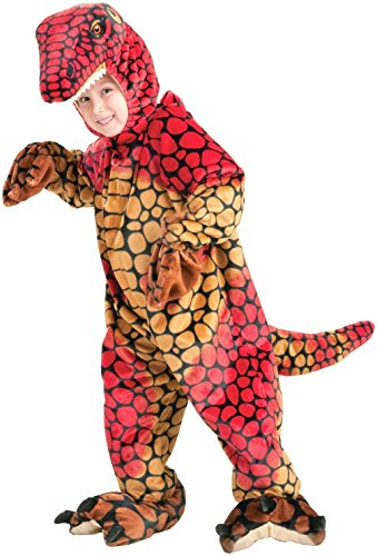 Kid Raptor Costume (Forum Novelties Plush Cuddlee Raptor Costume, Child's Small)