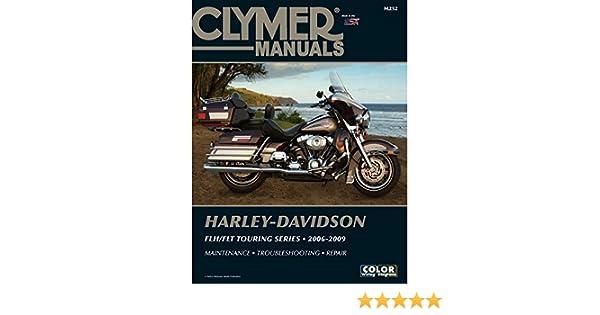 Amazon.com: 1 - Clymer Harley-Davidson FLH-FLT Touring Series (2006 on harley flh frame, harley flh solenoid, harley flh ignition switch, harley flh oil cooler, harley flh wire harness, flhx wiring diagram, harley flh voltage regulator, road king wiring diagram,