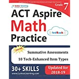 ACT Aspire Test Prep: 7th Grade Math Practice Workbook and Full-length Online Assessments: ACT Aspire Study Guide