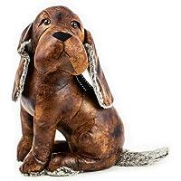 Deurstopper hond baset, decoratiefiguur, deurhouder H 36 cm