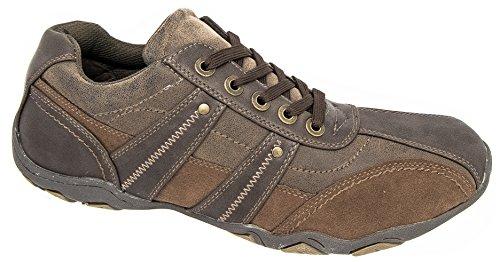 Route 21 - Zapatillas para hombre marrón marrón