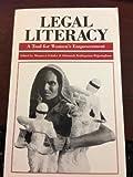 Legal Literacy, Margaret Schuler, 0912917253