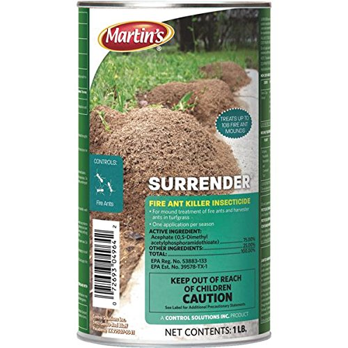 Control Solutions 100510160 Martin's Surrender Fire Ant Killer Insecticide