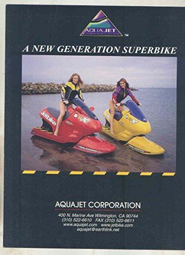 2002 2005 Aqua Jet Jet Ski Jetbike WX1 1250 Motorcycle for Water (Aqua Skis)