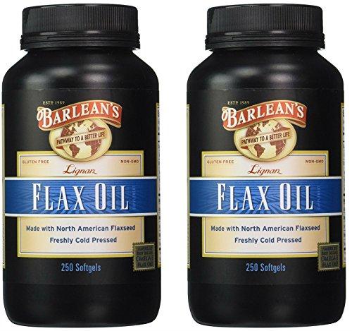 2 PACK: Lignan Flax Oil - Softgels - 250 ct. by Barlean's Organic Oils