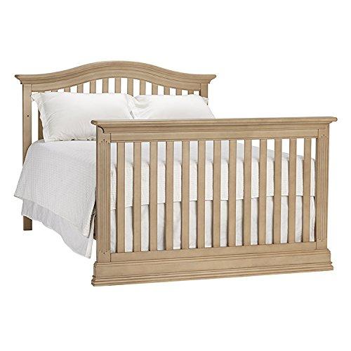 Full Size Conversion Kit Bed Rails for Baby Cache Dakota Crib - Driftwood