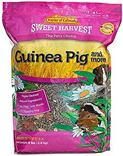 product image for Sweet Harvest Guinea Pig Food, Premium Timothy Hay Pellets with added Specialty Ingredients, 4 lbs Bag