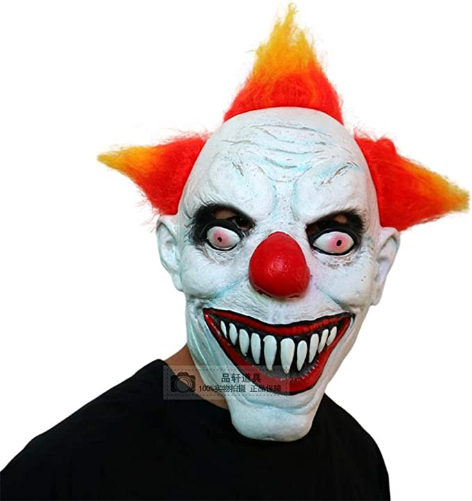 Jizhen Máscara de Halloween Disfraz de Halloween Disfraz de horror ...