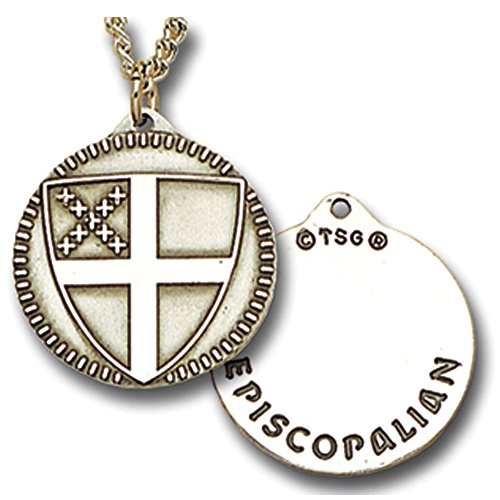 (Episcopal Shield Medallion)