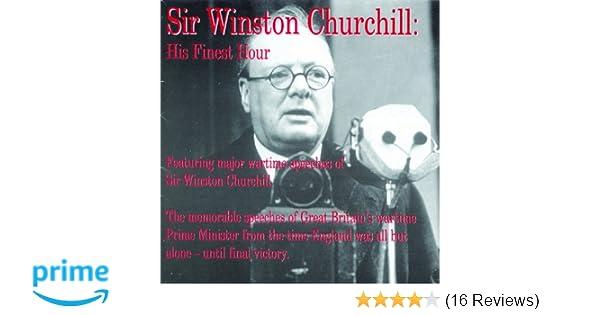 His Finest Hour Penton Audio Winston Churchill 0739497702929