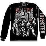 Long Sleeve: The Walking Dead- Infected Hands (Front/Back) Longsleeve Shirt Size XXL