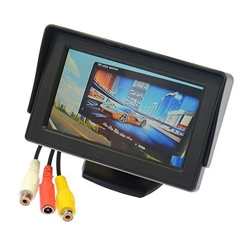 Aihome 4.3″ TFT LCD Car Rear View Reverse Color Camera Monitor Reversing DVD VCR CCTV For Sale