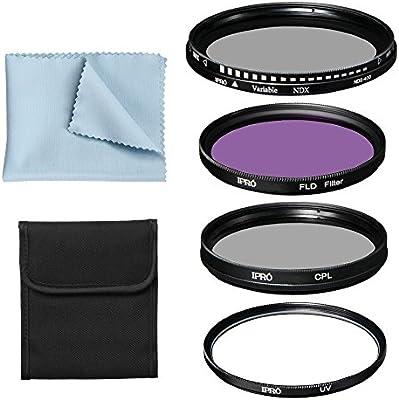 iPro Kit de filtros incluir: Slim lente juego de filtros de 4 ...