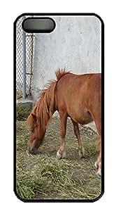 iPhone 5S Case Pony PC Custom iPhone 5/5S Case Cover Black